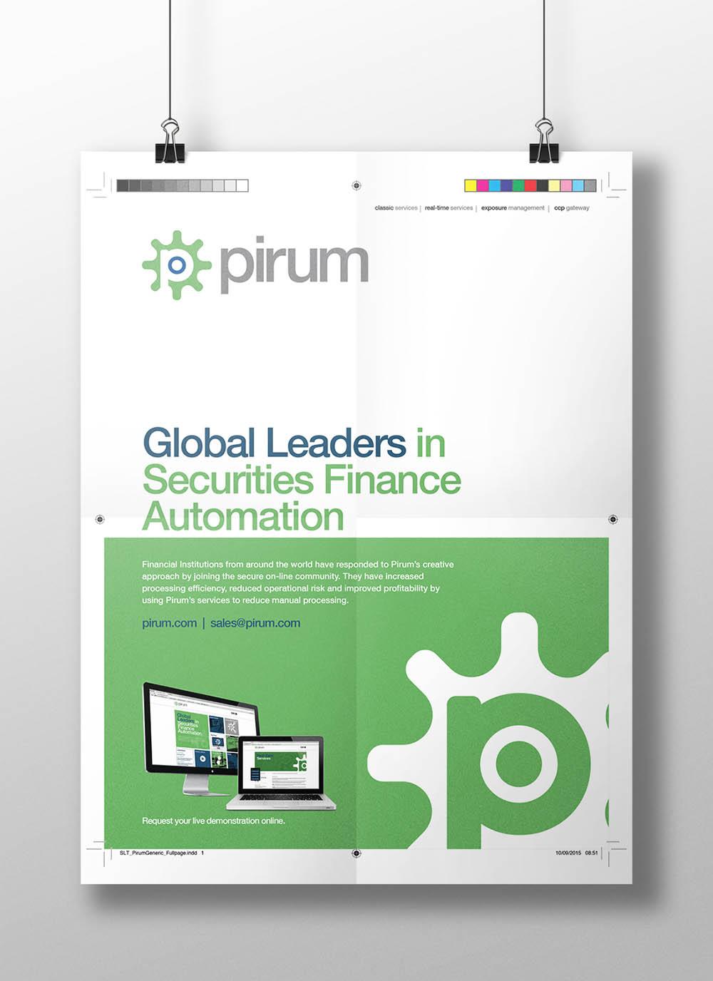 pirum_poster, brand creation, Pirum, Form Advertising, poster