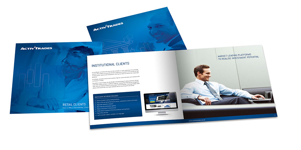 Brochure Design, activtrades, Form Advertising, rebrand, brand identity, brand creation