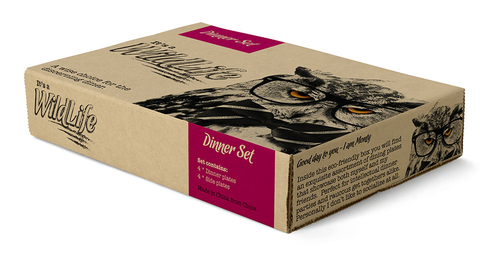 It's A WildLife Eco Packaging,It's A WildLife, brand creation, retail brand, Form Advertising