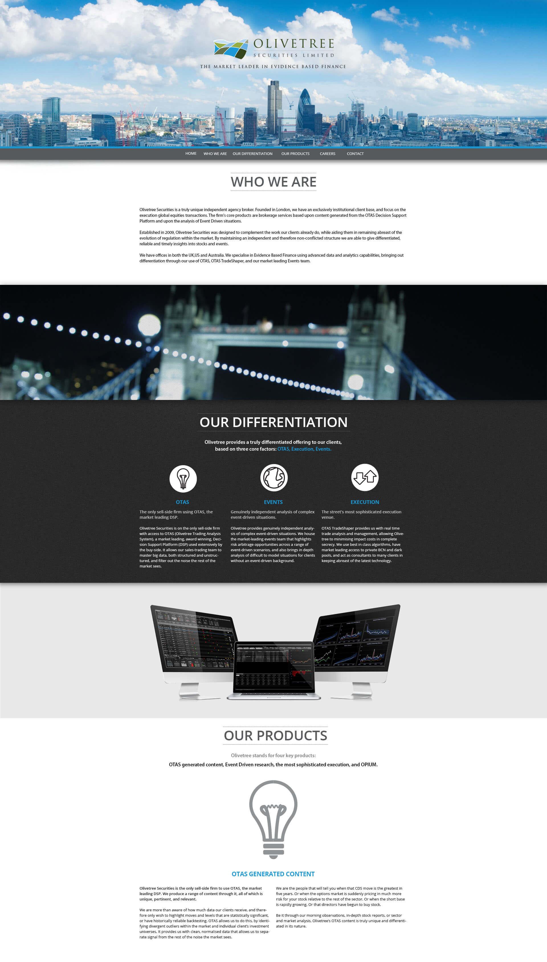 Olivetree Group Web Design