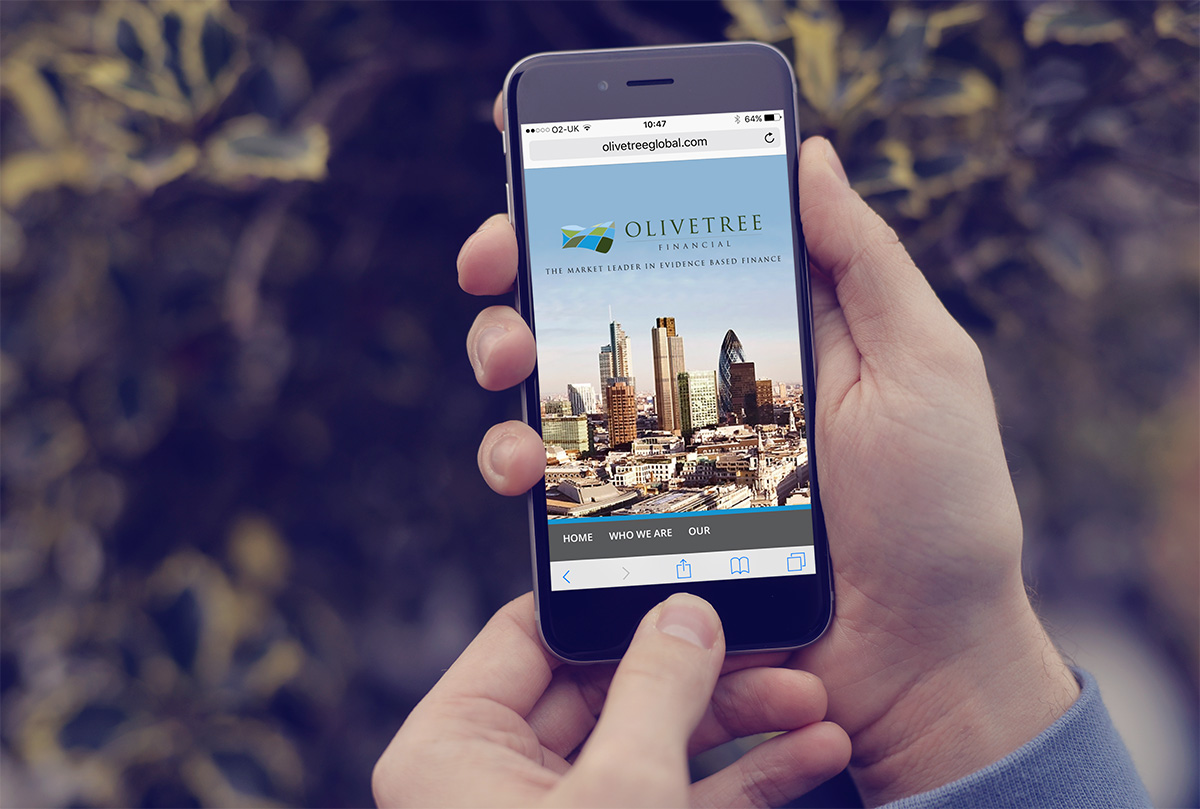 Olivetree financial mobile site