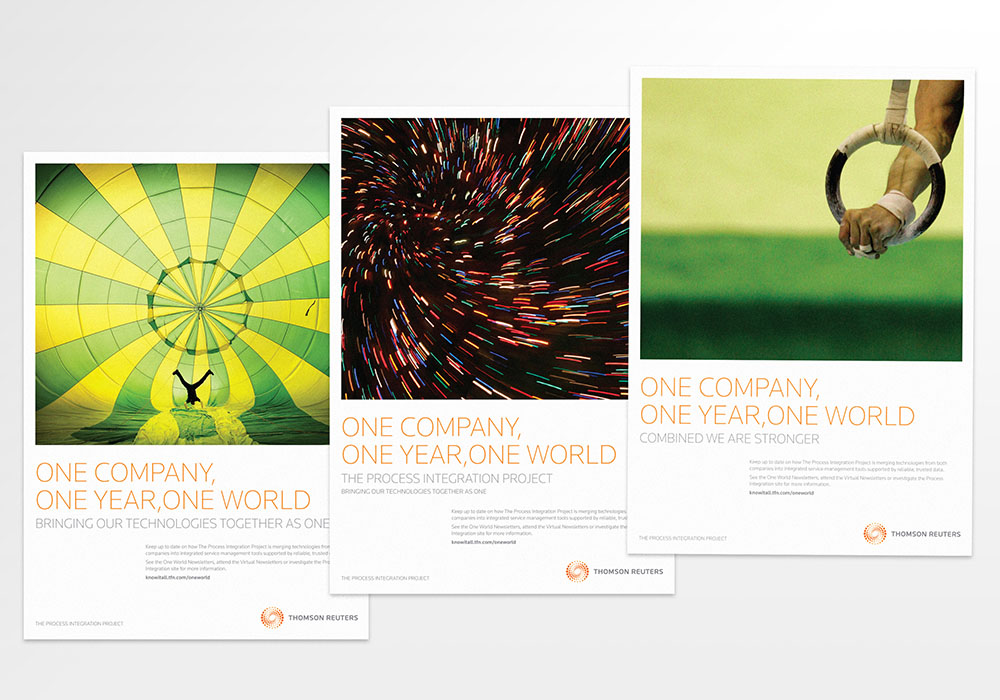 Thomson Reuters campaigns, advertising campaign, poster, Thomson Reuters, collateral design, branding, advertising, Form Advertising