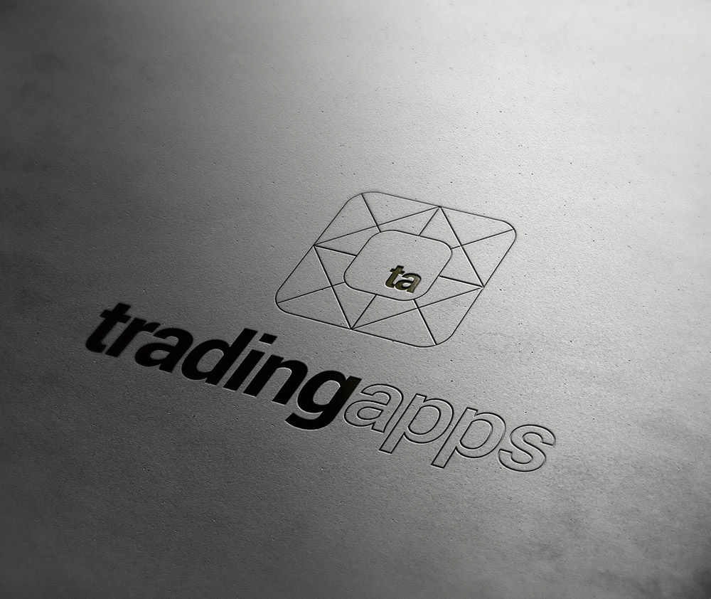 tradingapps logo, trading apps, Form Advertising, logo, collateral design, branding