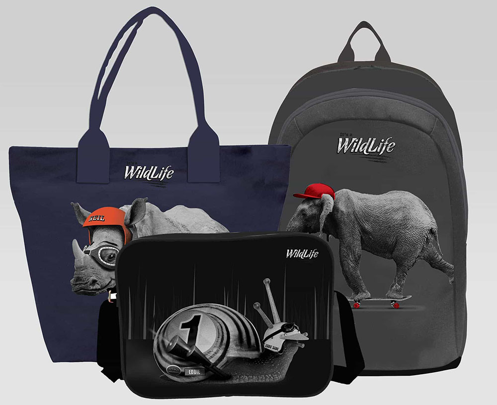 Bagtrotter_Its A WIldLife-min, It's A WildLife, brand creation, retail brand, Form Advertising