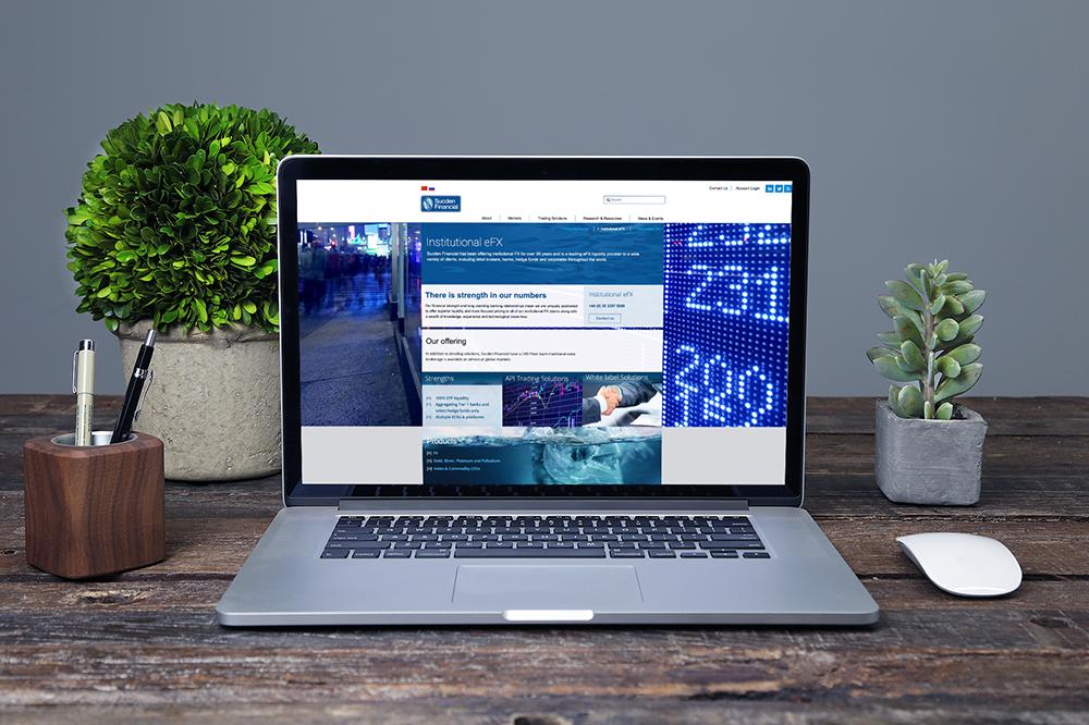 Sucden Financial Website 1