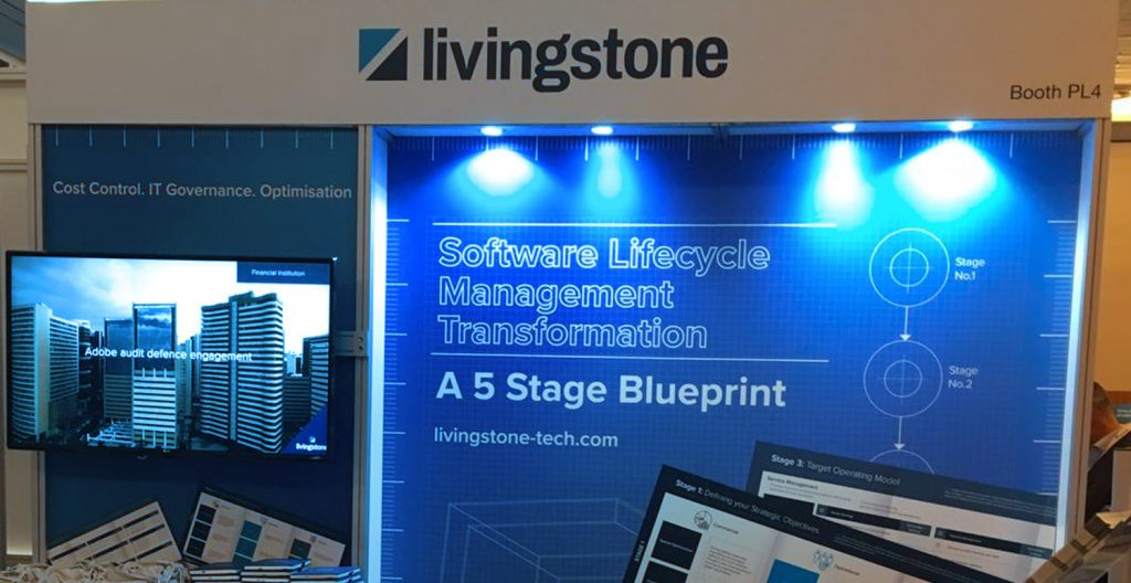 Livingstone Tech Blueprint Event Stand